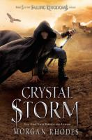 Cover image for Crystal storm / Morgan Rhodes.