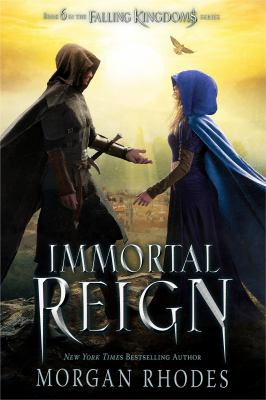 Cover image for Immortal reign / Morgan Rhodes.