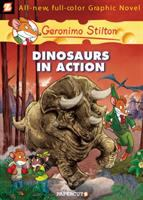 Cover image for Dinosaurs in action / by Geronimo Stilton