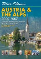 Cover image for Rick Steves Europe. Austria & the Alps 2000-2007 [DVD] / Back Door Productions in association with American Public Television and Oregon Public Broadcasting.