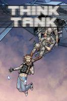 Cover image for Think tank. v.3 / by Matt Hawkins ; artist, Rahsan Ekedal.