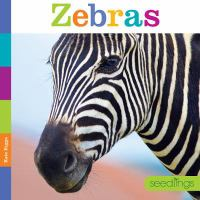 Cover image for Zebras / Kate Riggs.