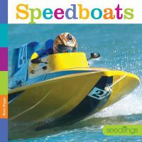 Cover image for Speedboats / Kate Riggs.