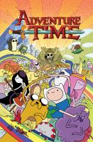 """Cover image for Adventure time. 1 / created by Pendleton Ward ; written by Ryan North ; illustrated by Shelli Paroline and Braden Lamb ; """"BMO's lesson"""" illustrated by Mike Holmes, colors by Studio Parlapa ; letters by Steve Wands ; cover by Chris Houghton ; colors by Kassandra Heller ; editor Shannon Watters ; assistant editor Adam Staffaroni ; trade design & """"BMO in the desert"""" illustrations by Stephanie Gonzaga ; """"BMO in the desert"""" colors by Kassandra Heller."""