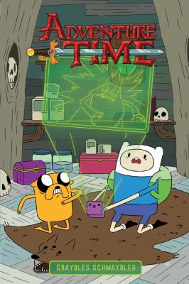 "Cover image for Adventure time. 5, Graybles schmaybles / written by Danielle Corsetto ; illustrated by Bridget Underwood ; inks by Jenna Ayoub ; colors by Whitney Cogar ; letters by Aubrey Aiese ; ""Flan!"" / written & illustrated by Meredith McClaren."