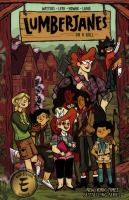 Cover image for Lumberjanes. 9, On a roll / written by Shannon Watters & Kat Leyh ; illustrated by Carolyn Nowak ; colors by Maarta Laiho ; letters by Aubrey Aiese.