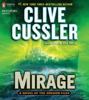 Cover image for Mirage [compact disc] / Clive Cussler, with Jack Du Brul.