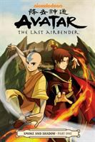 Cover image for Avatar : the last airbender. Smoke and shadow. Part one / script, Gene Luen Yang ; art and cover, Gurihiru ; lettering, Michael Heisler.