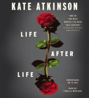 Cover image for Life after life [compact disc] / Kate Atkinson.