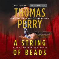 Cover image for A string of beads [compact disc] : a Jane Whitefield novel / Thomas Perry.