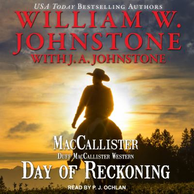Cover image for Day of reckoning [compact disc] / William W. Johnstone with J. A. Johnstone.