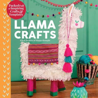 Cover image for Llama crafts / by Ellen Deakin.