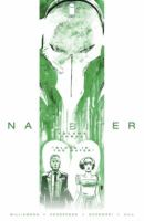 Cover image for Nailbiter. Volume three, Blood in the water / story by Joshua Williamson ; art by Mike Henderson with Adam Markiewicz, issue 12 ; colors by Adam Guzowski ; letters & book design by John J. Hill ; edited by Rob Levin.
