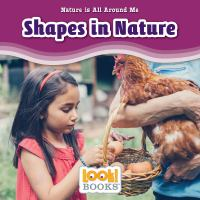 Cover image for Shapes in nature / by Jennifer Marino Walters.