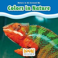 Cover image for Colors in nature / by Jennifer Marino Walters.