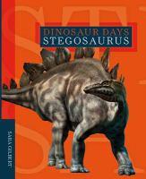 Cover image for Stegosaurus / Sara Gilbert.