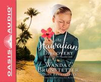 Cover image for The Hawaiian discovery [compact disc] / Wanda E. Brunstetter & Jean Brunstetter.