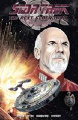Cover image for Star Trek, The Next Generation. Mirror broken / written by David Tipton and Scott Tipton ; art by J. K. Woodward ; colors by J. K. Woodward, Charlie Kirchoff ; letters by Andworld Design.
