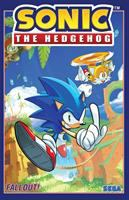 Cover image for Sonic the Hedgehog. Vol.1, Fallout! / story, Ian Flynn ; art, Tracy Yardley (#1), Adam Bryce Thomas (#2), Jennifer Hernandez (#3), Evan Stanley (#4) ; inks, Jim Amash (#1), Bob Smith (#1) ; colors, Matt Herms (#1 & 4), Adam Bryce Thomas (#2), Heather Breckel (#3) ; letters, Cory Breen.