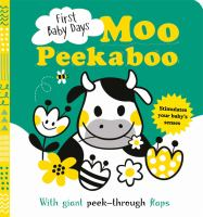Cover image for Moo peekaboo / [illustrated by Mojca Dolinar].