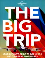 Cover image for The big trip : your ultimate guide to gap years and overseas adventures.