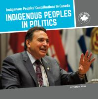 Cover image for Indigenous peoples in politics / by Simon Rose.
