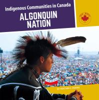 Cover image for Algonquin Nation / by Heather C. Hudak.