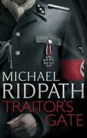 Cover image for Traitor's gate / Michael Ridpath.