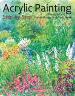 Cover image for Acrylic Painting Step-By-Step 22 Easy Modern Designs.