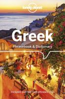 Cover image for Lonely Planet Greek Phrasebook & Dictionary
