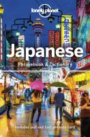 Cover image for Lonely Planet Japanese Phrasebook & Dictionary