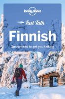 Cover image for Lonely Planet fast talk Finnish.