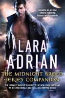 Cover image for The midnight breed series companion / Lara Adrian.