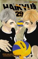 Cover image for Haikyu!! 29, Found / Haruichi Furudate ; translation, Adrienne Beck ; touch-up art & lettering, Erika Terriquez.