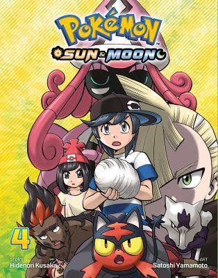 Cover image for Pokémon Sun & Moon. Volume 4 / story, Hidenori Kusaka ; art, Satoshi Yamamoto ; English adaptation, Bryant Turnage ; translation, Tetsuichiro Miyaki ; touch-up & lettering, Susan Daigle-Leach.