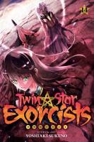 Cover image for Twin star exorcists. v.14 / story & art, Yoshiaki Sukeno ; translation, Tetsuichiro Miyaki ; English adaptation, Bryant Turnage ; touch-up art & lettering, Stephen Dutro.