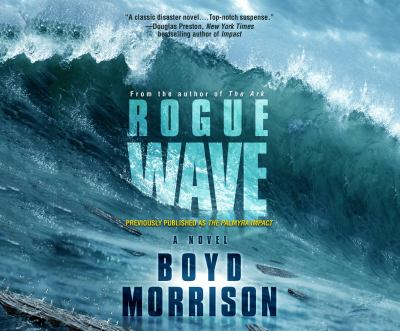 Cover image for Rogue wave [compact disc] : a novel / Boyd Morrison.