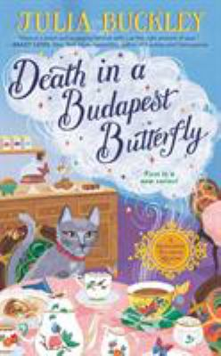 Cover image for Death in a Budapest Butterfly A Hungarian Tea House Mystery.