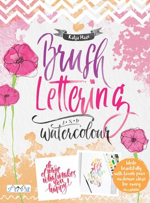 Cover image for Brush Lettering and Watercolour
