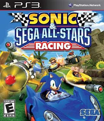 Cover image for Sonic & Sega All-Stars racing [video game]