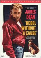 Cover image for Rebel without a cause [DVD] / Warner Bros. Pictures presents ; a Warner Bros.-First National picture ; screen play by Stewart Stern ; adaptation by Irving Shulman from a story by Nicholas Ray ; produced by David Weisbart ; directed by Nicholas Ray.