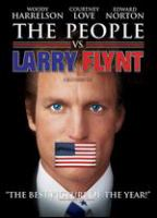 Cover image for The people vs. Larry Flynt [DVD] / Columbia Pictures presents in association with Phoenix Pictures ; an Ixtlan production ; written by Scott Alexander & Larry Karaszewski ; produced by Oliver Stone, Janet Yang and Michael Hausman ; directed by Milos Forman.