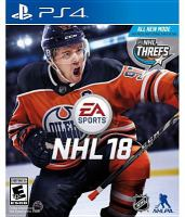 Cover image for NHL 18 [video game] / Electronic Arts.