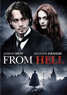 Cover image for From Hell [DVD] / Underdog Pictures ; produced by Don Murphy, Jane Hamsher ; directed by the Hughes Brothers ; screenplay by Terry Hayes and Rafael Yglesias.