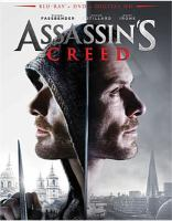 Cover image for Assassin's creed [blu-ray] / Regency Enterprises and Ubisoft Entertainment present ; a New Regency, Ubisoft Motion Pictures, DMC Film and Kennedy/Marshall Company production ; produced by Jean-Julien Baronnet, Gérard Guillemot, Frank Marshall, Patrick Crowley, Michael Fassbender, Conor McCaughan, Arnon Milchan ; screenplay by Michael Lesslie and Adam Cooper & Bill Collage ; directed by Justin Kurzel.
