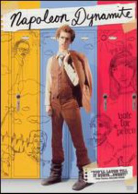 Cover image for Napoleon Dynamite [DVD] / Fox Searchlight Pictures and Paramount Pictures present in association with MTV Films ; produced by Jeremy Coon, Chris Wyatt, Sean Covel ; written by Jared Hess and Jerusha Hess ; directed by Jared Hess.