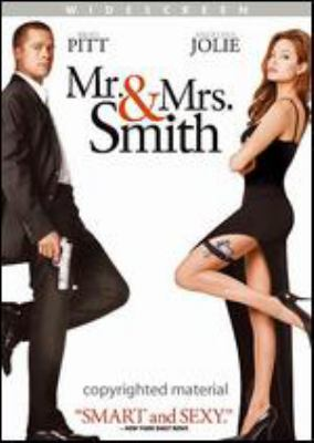 Cover image for Mr. & Mrs. Smith [DVD] / Regency Enterprises presents a New Regency/Summit Entertainment/Weed Road Pictures production ; a Doug Lima film ; written by Simon Kinberg ; produced by Arnon Milchan ... [et al.] ; directed by Doug Liman.