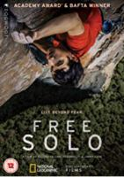 Cover image for Free solo [DVD] / National Geographic Documentary Films presents ; a Little Monster Films production ; an Itinerant Media production ; a Parkes+MacDonald/Image Nation production ; a film by Elizabeth Chai Vasarhelyi & Jimmy Chin ; directed & produced by Elizabeth Chai Vasarhelyi & Jimmy Chin ; produced by Evan Hayes, Shannon Dill.