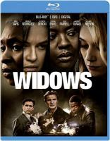 Cover image for Widows [blu-ray] / Twentieth Century Fox and Regency Enterprises present ; in association with Film4 ; a New Regency/See-Saw Films/Lammas Park production ; a Steve McQueen film ; produced by Ian Canning, Emile Sherman, Steve McQueen, Arnon Milchan ; screenplay by Gillian Flynn & Steve McQueen ; directed by Steve McQueen.