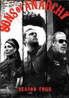 Cover image for Sons of anarchy. Season four [DVD] / creator, Kurt Sutter.